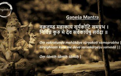 Mantra do Geneśy